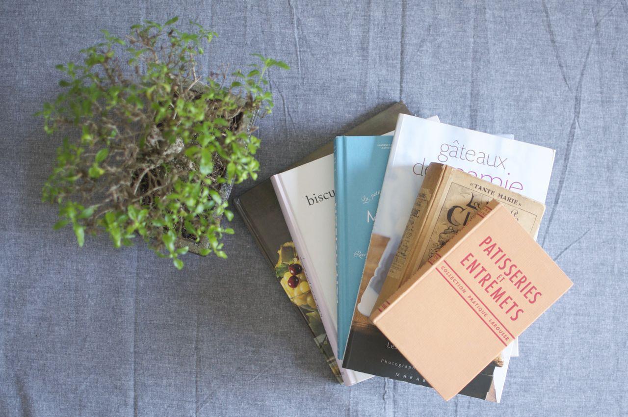 Mes livres de cuisine fétiches