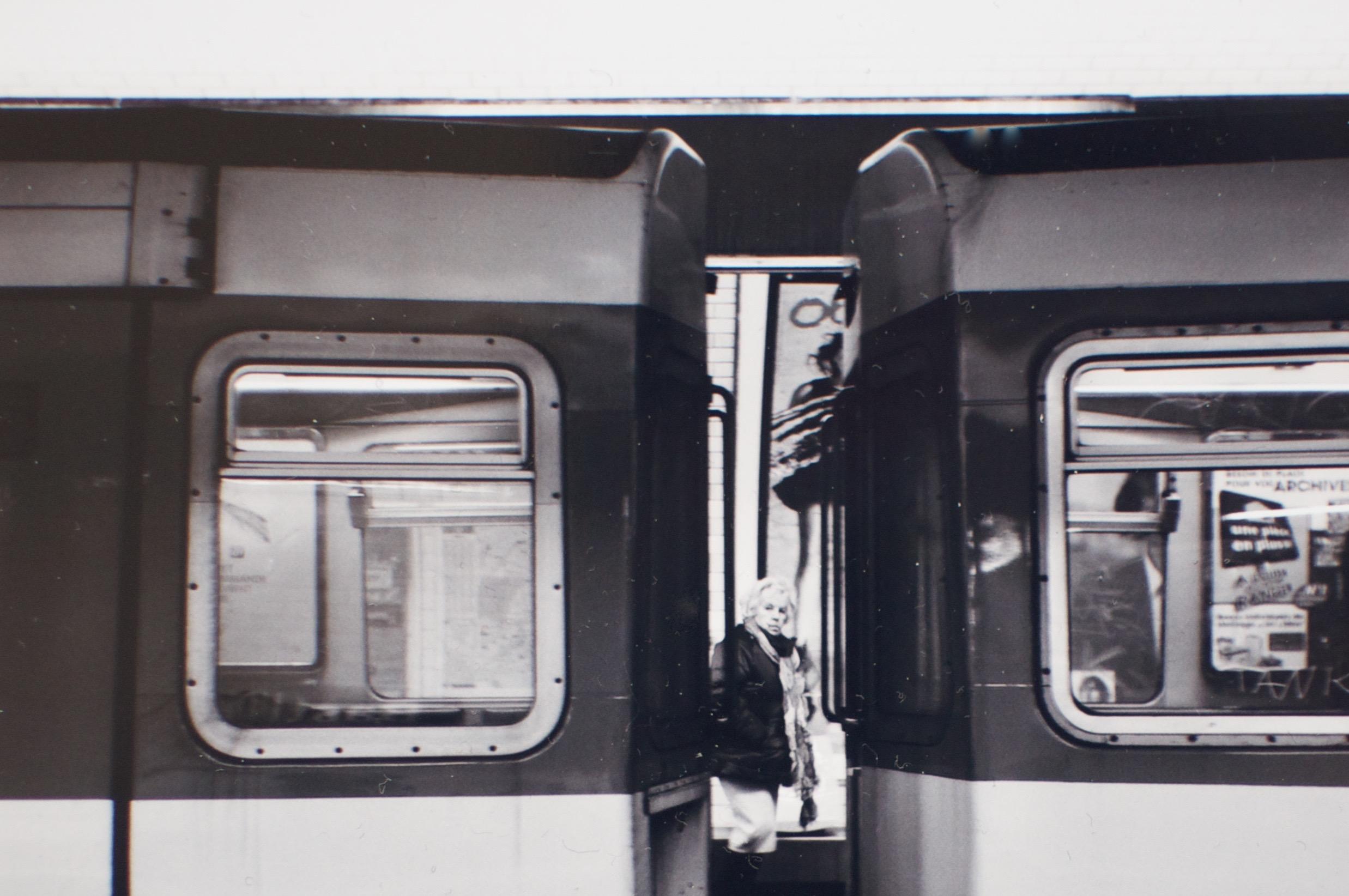 La grand-mère du métro