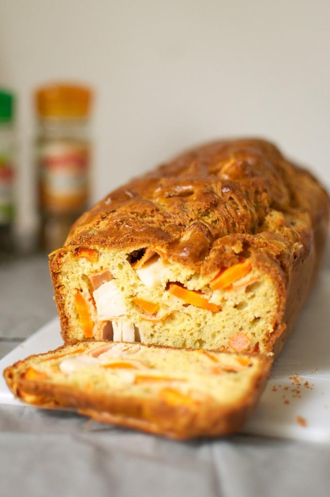 Cake Curry Carotte
