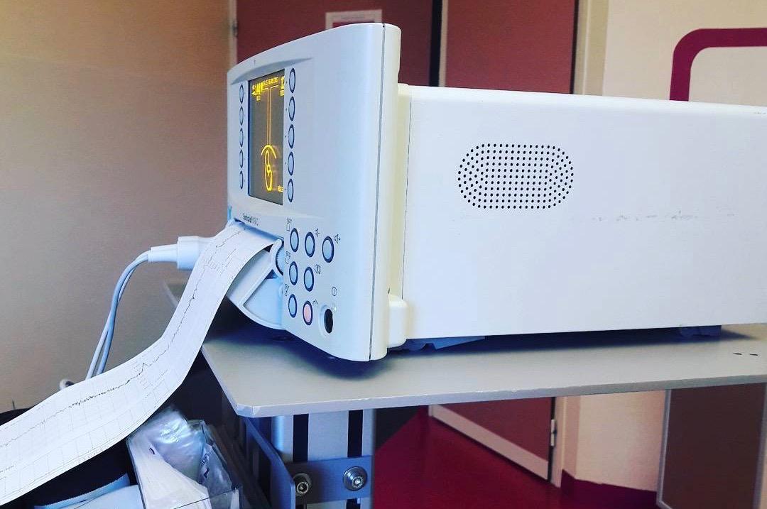 Monitoring du bébé à la maternité