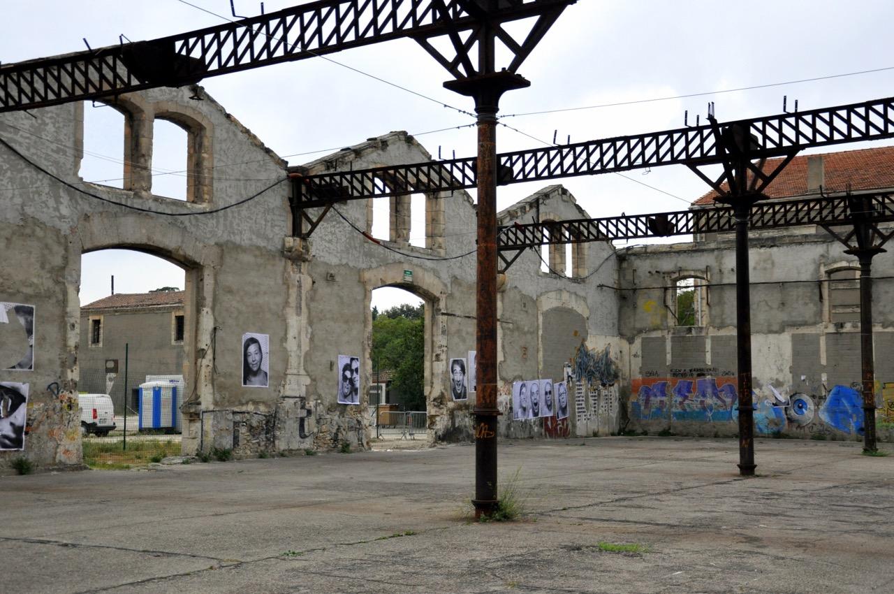Le parc des ateliers d'Arles