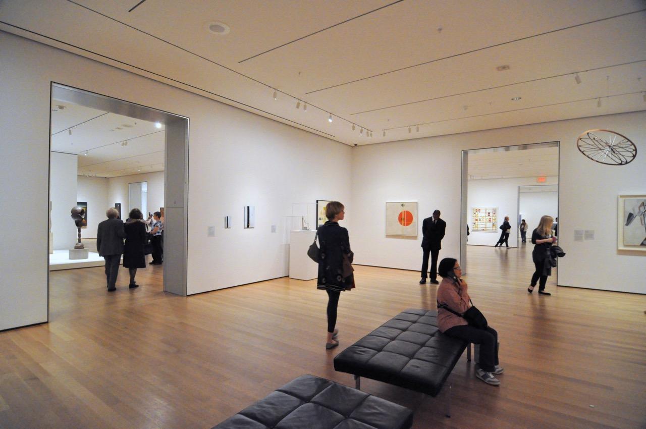 Une salle du MOMA