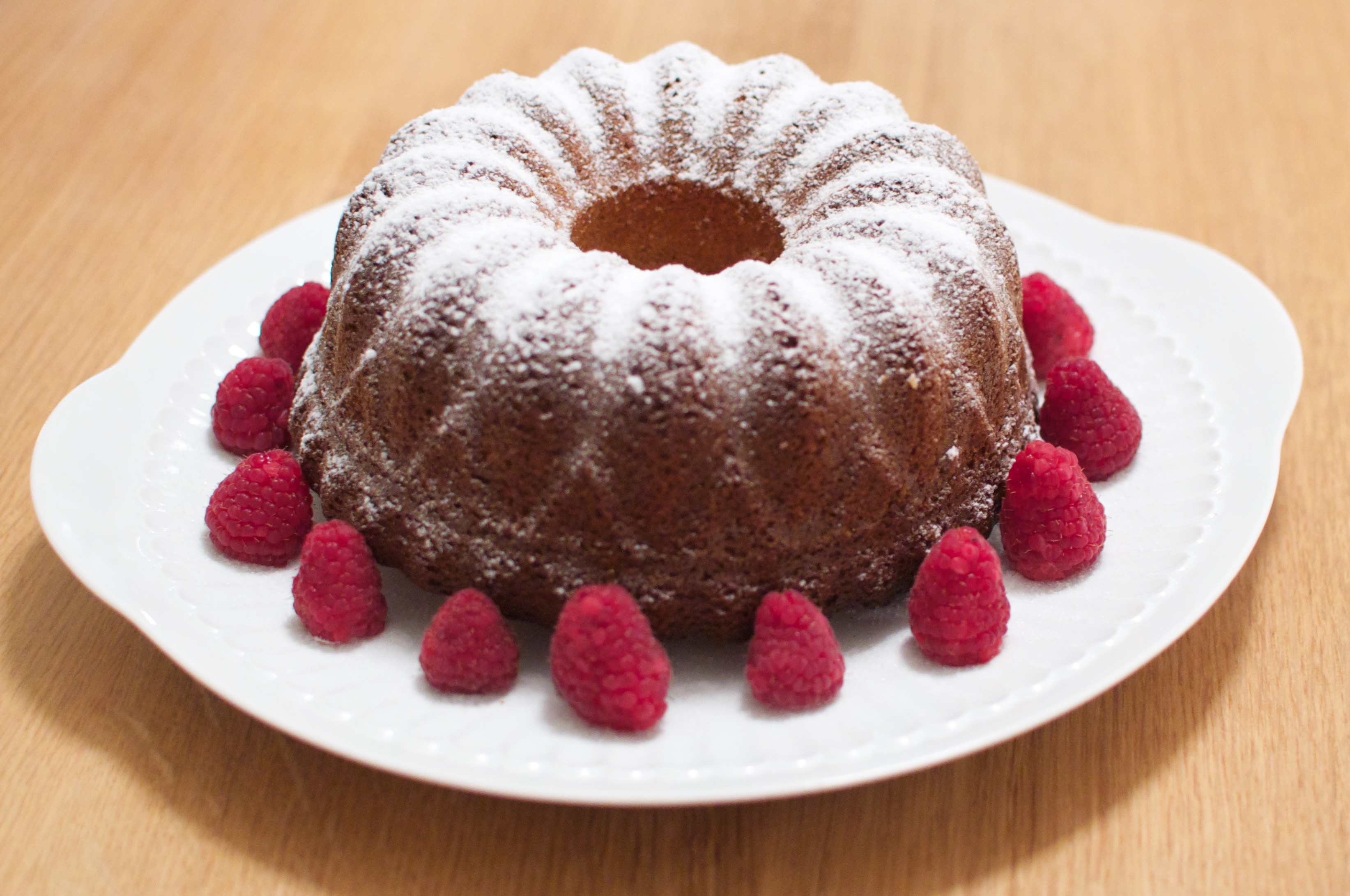 Bundt cake au miel et à la vanille